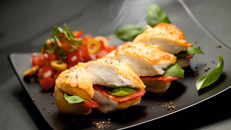 Przepis na kurczaka z chorizo i serem