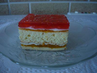 Ciasto z dżemem morelowym