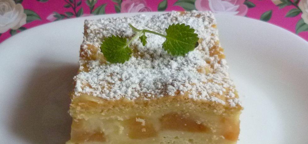 Ciasto z jabłkami i budyniem (autor: krystyna32)