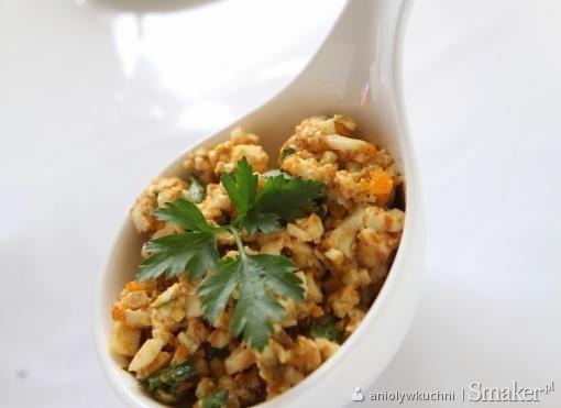 Pasta jajeczna z curry