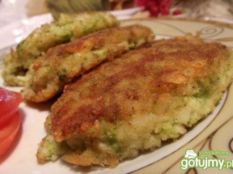 Przepis  kotlety z makaronu i brokuła przepis