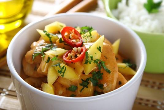 Indyjski kurczak z mango
