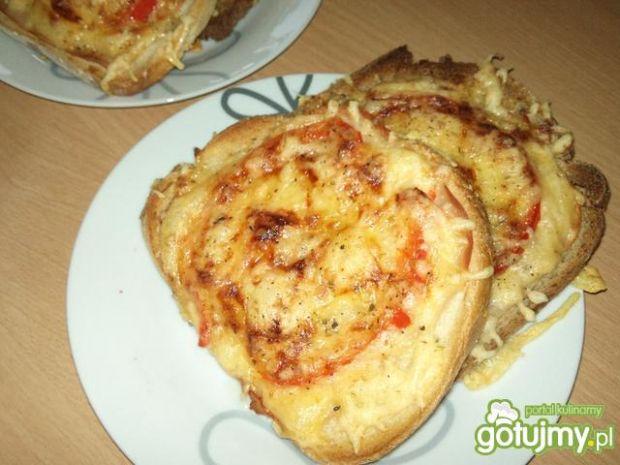 Przepis  tosty po hawajsku wg alex przepis