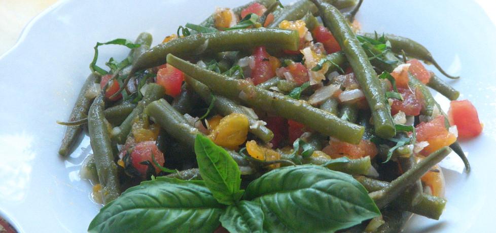 Fasolka szparagowa z czosnkiem i pomidorami (autor: skotka ...
