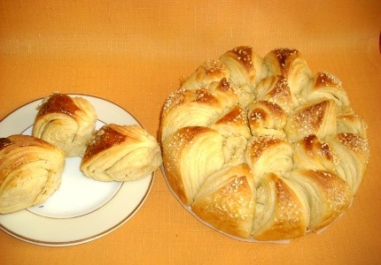 Chlebek bułgarski słoneczko