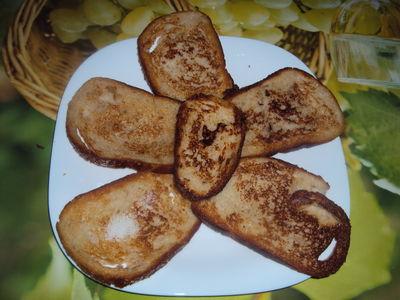 Smażony chleb mojej mamy