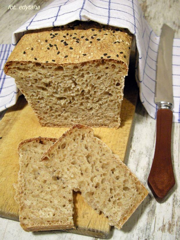 Przepis  chleb 100% orkiszowy na drożdżach przepis