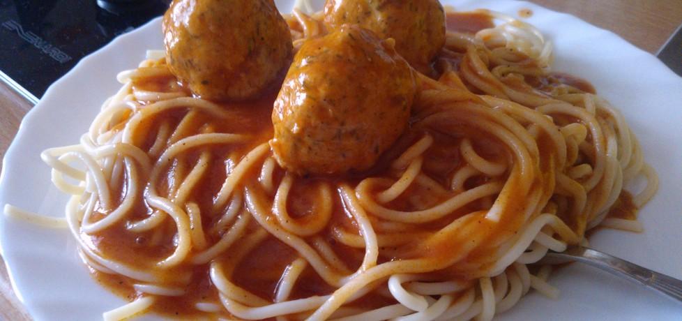 Spaghetti a'la zakochany kundel. (autor: peppermint91 ...