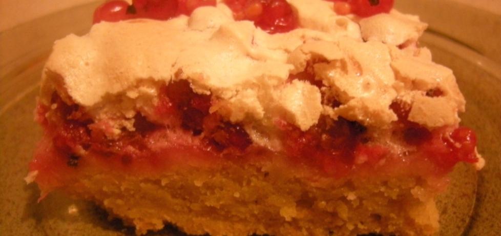 Ciasto porzeczkowe z bezą (autor: kate131)