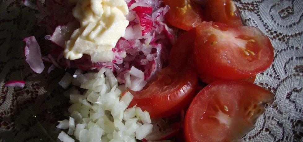 Sałatka biało-czerwona (autor: waclaw)