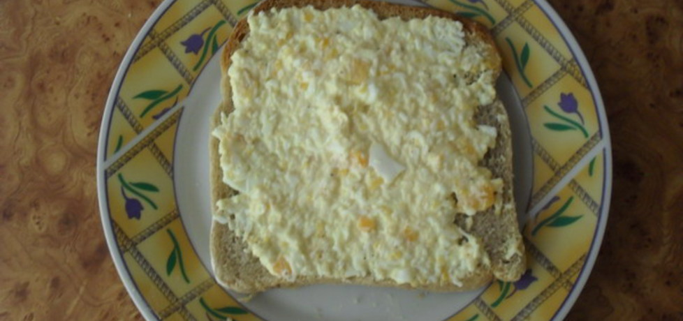 Pasta jajeczna. (autor: izabelabella81)