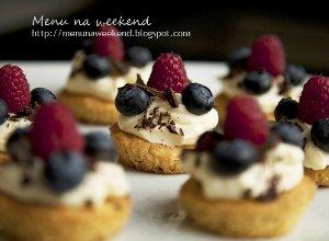 Maślane ciasteczka z owocami  prosty przepis i składniki