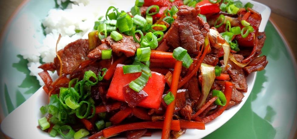 Wieprzowina po chińsku (autor: jejkuchnia)
