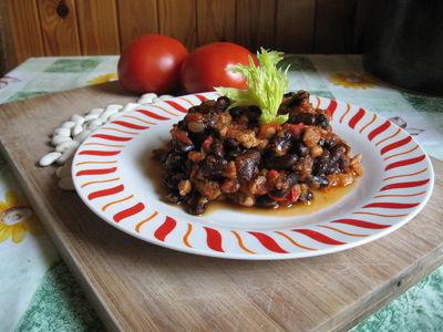 Chilli con carne z kurczakiem