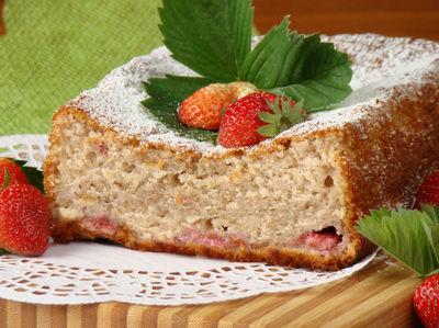 Ciasto mega truskawkowe