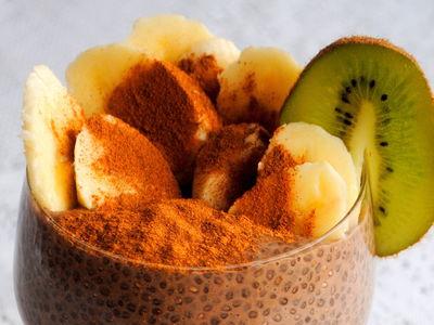 Czekoladowy pudding z nasion chia