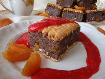 Kakaowy deser z kaszy manny