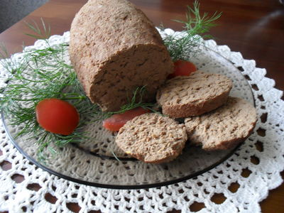 Pasta z wątróbek drobiowych