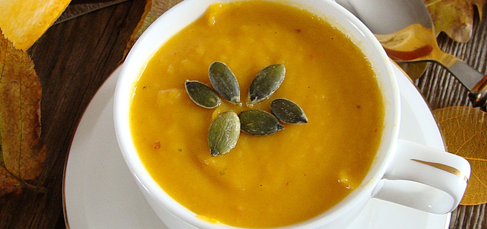 Pikantna zupa z dyni i chili (autor: 2milutka)