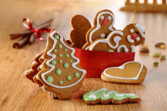 Korzenne ciasteczka na choinkę (pierniczki)  video
