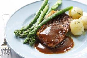 Wołowina a'la chateaubriand  prosty przepis i składniki