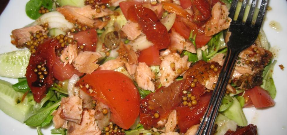 Sałatka z mięsa obiadowego (autor: foczkaks)