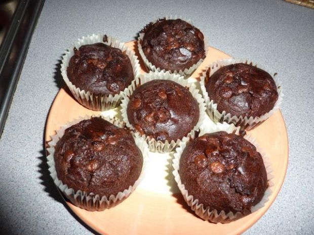 Muffinki czekoladowe  składniki