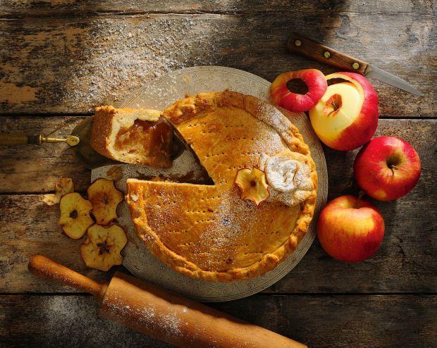 Przepis  apple pie z cynamonem przepis