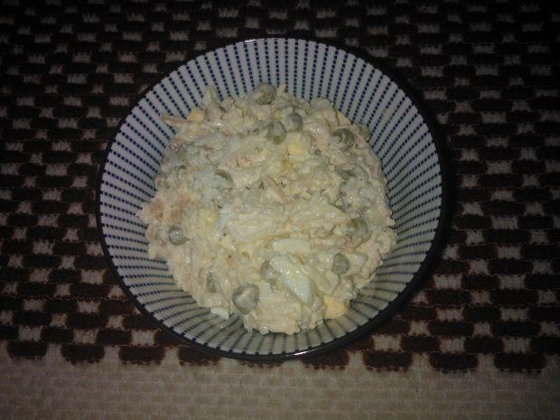 Przepis  sałatka ryżowa z warzywami przepis