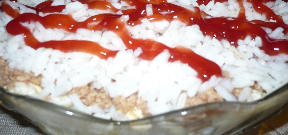 Sałatka ryżowa z tuńczykiem (autor: czekoladkam)