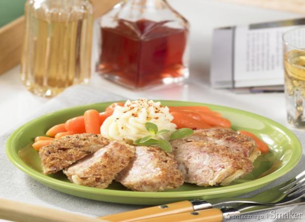 Kotlet z kapusty i mięsa mielonego