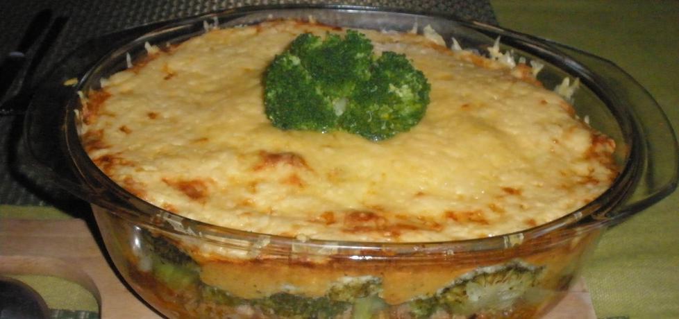 Zapiekanka brokułowa z mięsem mielonym (autor: cukiereczek13 ...