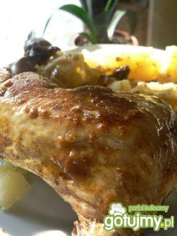 Przepis  udka z kurczaka wg gieni przepis