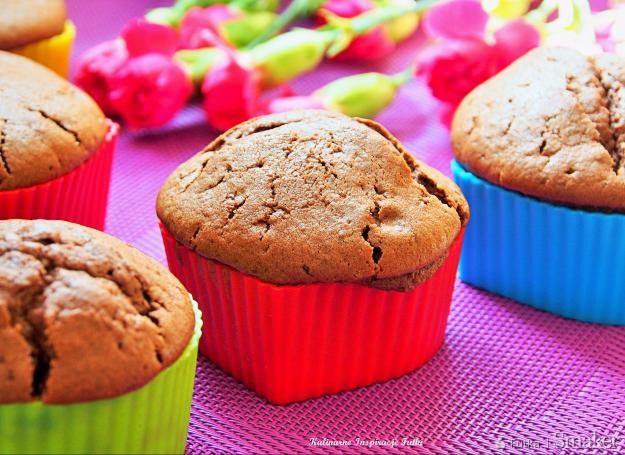 Kakaowe muffinki na maślance