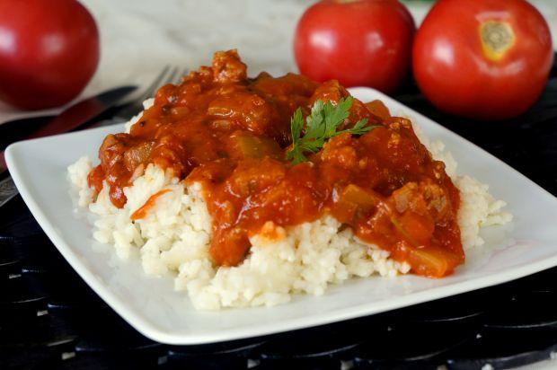 Przepis  sos do makaronu lub ryżu przepis