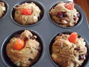Wytrawne babeczki (muffinki) z burakami i kozim serem