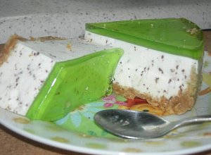 Serniczek straciatella  prosty przepis i składniki