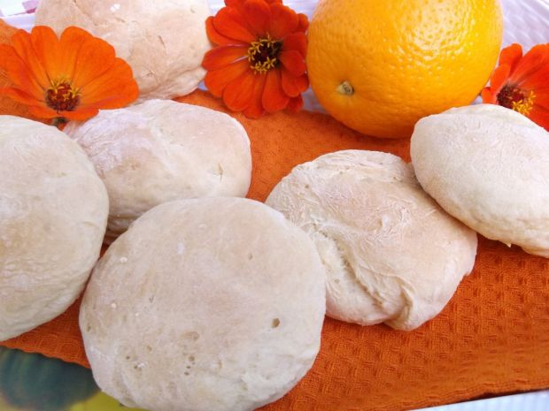 Przepis  pomarańczowo-miodowe bułeczki przepis