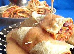 Kotlety mielone w tortilli  prosty przepis i składniki