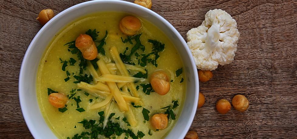 Zupa krem z kalafiora i sera żółtego (autor: rng