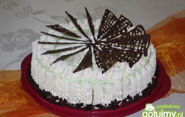 Przepis  tort lodowy cytrynowo