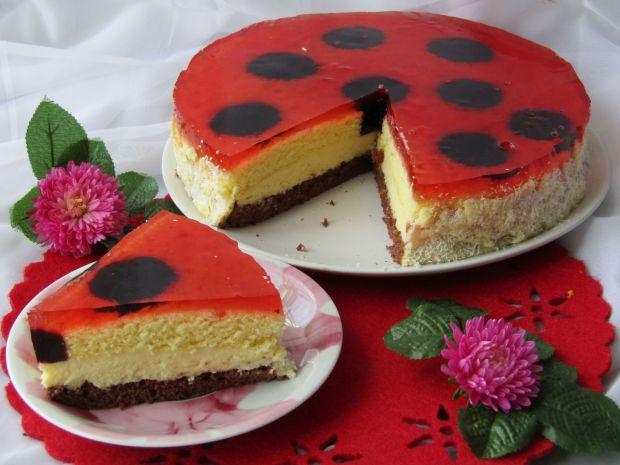 Przepis  ciasto biedronka przepis
