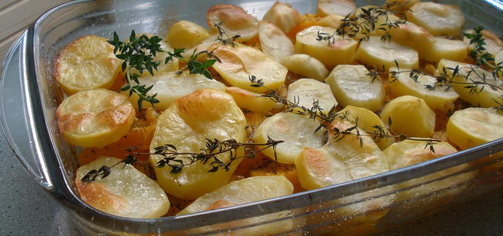 Pieczone ziemniaki z dynią w marynacie (autor: cukiereczek13 ...