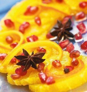 Carpaccio z pomarańczy  prosty przepis i składniki