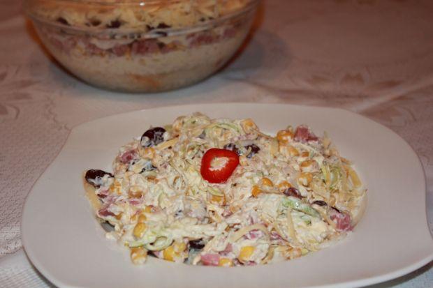 Sałatka ryżowa z majonezem (sałatki)
