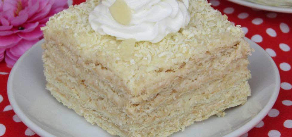 Ciasto rafaello bez pieczenia (autor: katarzyna59)