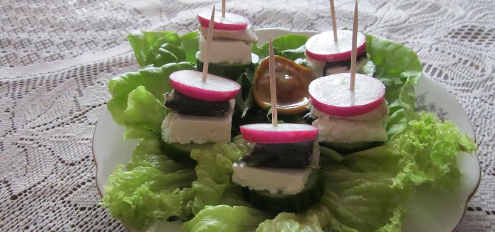 Koreczki z serem feta (autor: halina17)