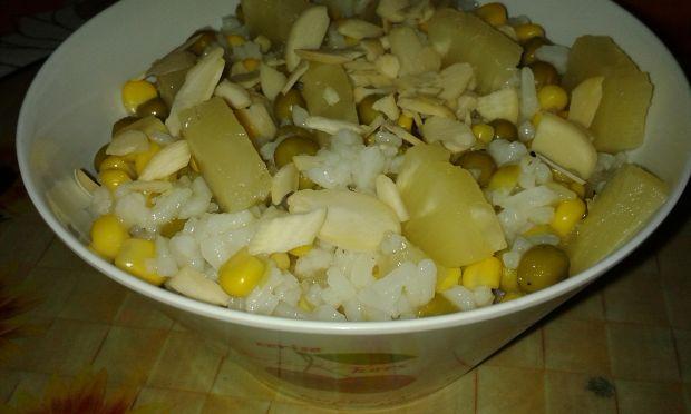 Przepis  sałatka ryżowa roberta przepis