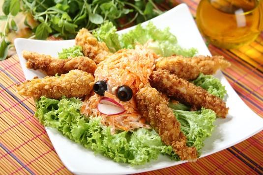 Paluszki z kurczaka w płatkach kukurydzianych