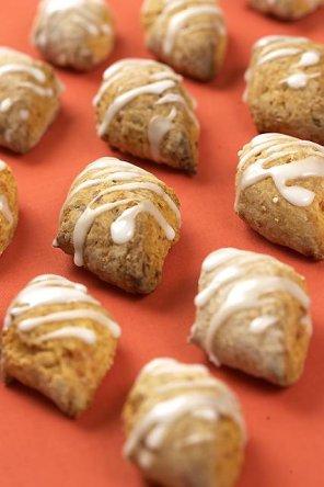 Fafernuchy  ciasteczka marchewkowo-miodowe
